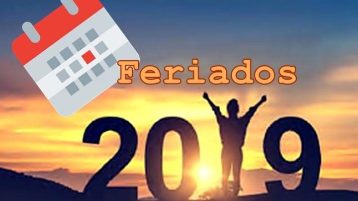 ¿Cuándo es el próximo feriado en 2019?: Tomá nota