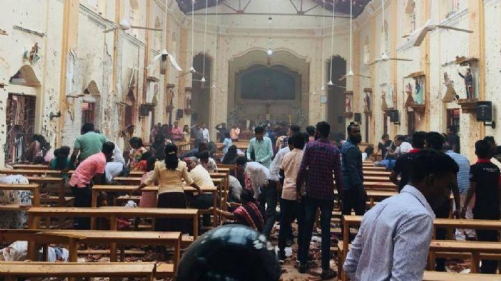 Sri Lanka: Al menos 187 muertos y 470 heridos tras explosiones en iglesias y hoteles de lujo