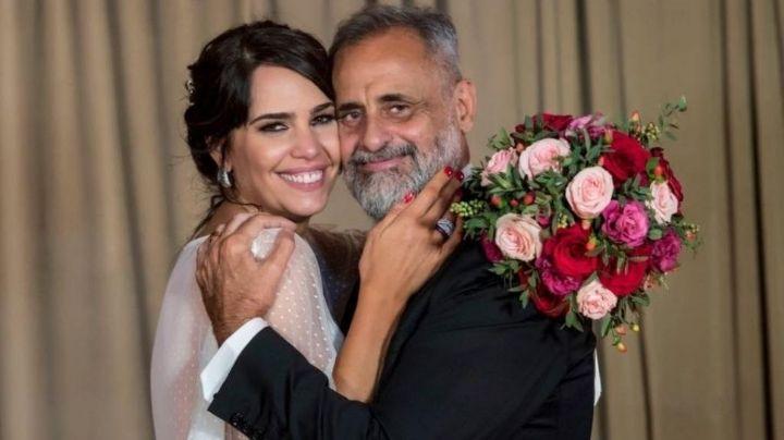 El desubicado look de Rocío en el casamiento de Jorge Rial ¡Mirá!