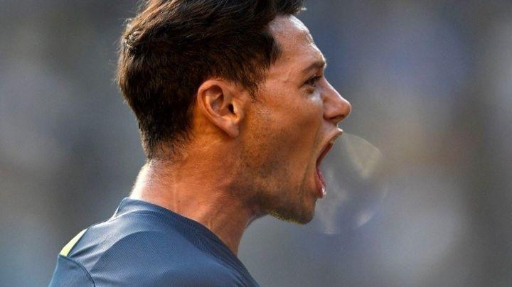 El polémico grito de gol de Mauro Zárate