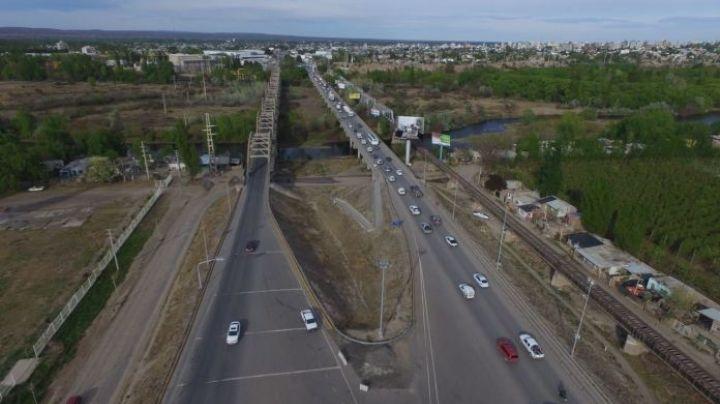 De noche: Se vienen las tareas de mantenimiento en el puente carretero