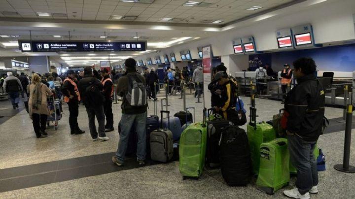 Inesperada medida de fuerza en Aeroparque: hay vuelos cancelados