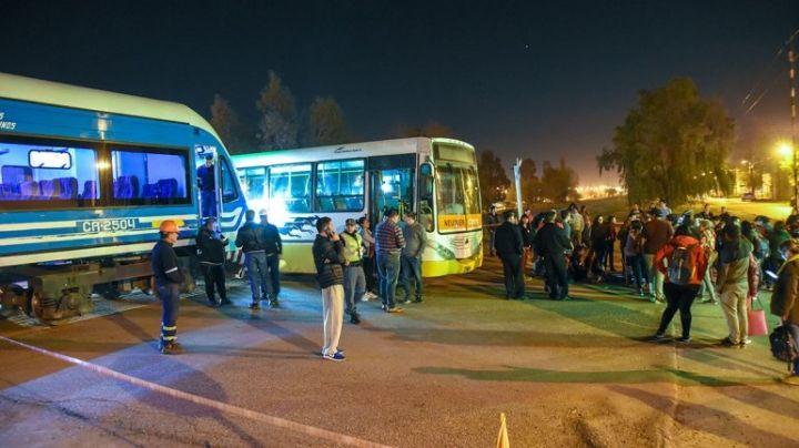 Qué declaró el chofer de Autobuses sobre el choque con el Tren del Valle