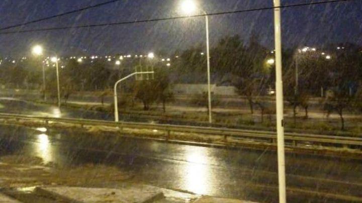 Nevó en Zapala y Caviahue está ¡helado!. Mirá