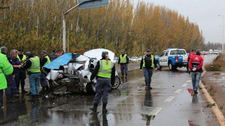 Accidente fatal en Centenario