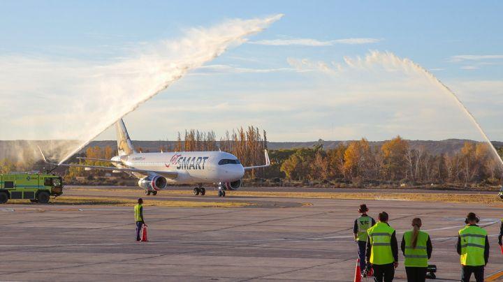 Ya hay vuelos directos entre Neuquén y Salta