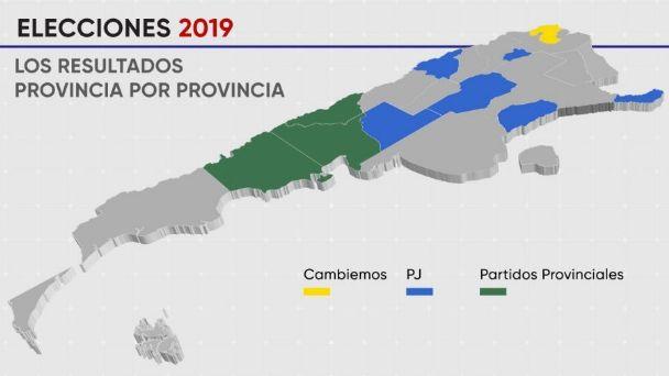 Elecciones 2019 Asi Quedo El Mapa Politico De Toda Argentina