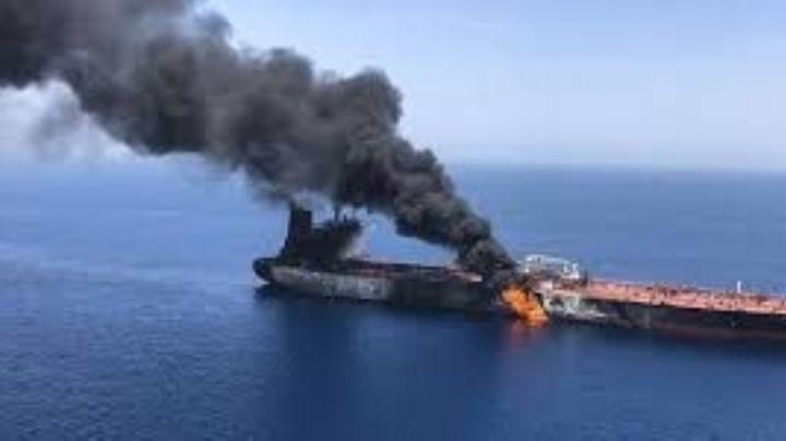 Incendiaron otros dos barcos petroleros en el Golfo de Omán