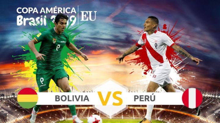 Copa América 2019: Bolivia vs Perú