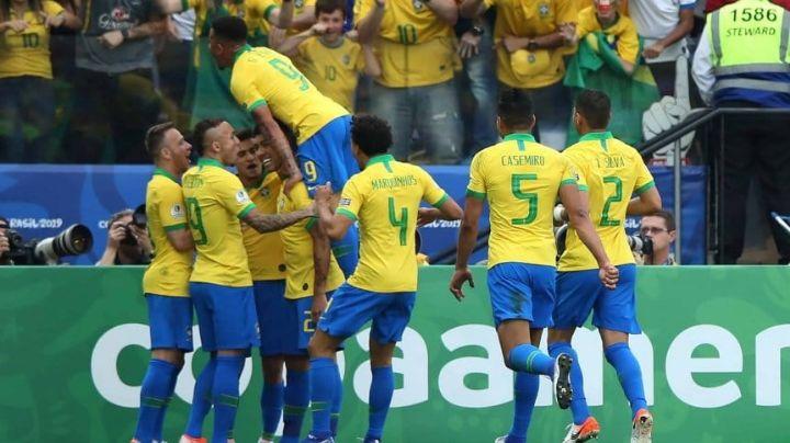 Brilló y gustó: contundente goleada de Brasil