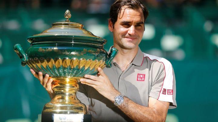 Roger Federer alcanzó su título número 102