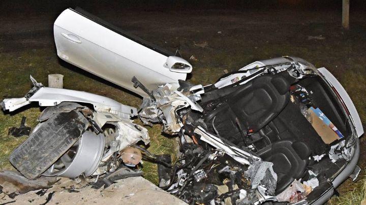 Tremendo accidente sobre ruta 22