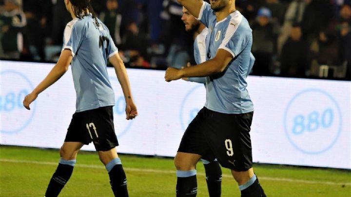 Terrible golazo de Luis Suárez