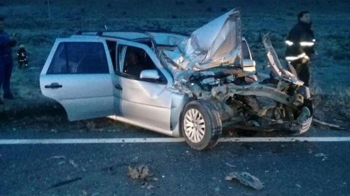 Dos muertos en un trágico accidente camino al Lago Pellegrini
