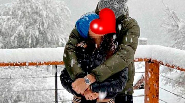 Bariloche, escenario de los besos de dos famosos. Mirá