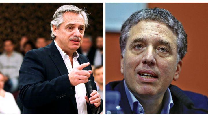 """¡Le tapó la boca! Terrible cruce entre Fernández y Dujovne por la """"deuda heredada"""""""