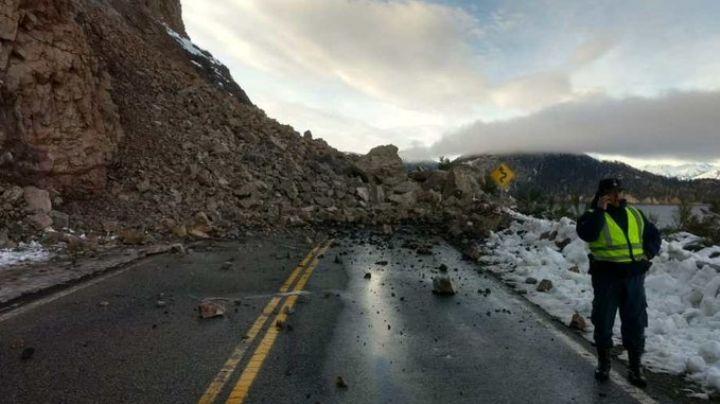 Villa La Angostura: así despejarán la ruta 40 tras el derrumbe