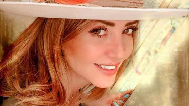 Andrea Legarreta comparte infartante postal en las redes