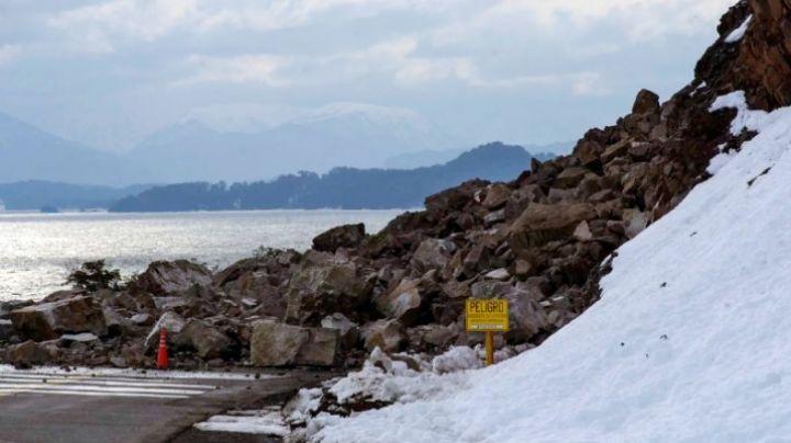 Villa La Angostura: Paso a paso, así trabajan los escaladores en la ruta 40