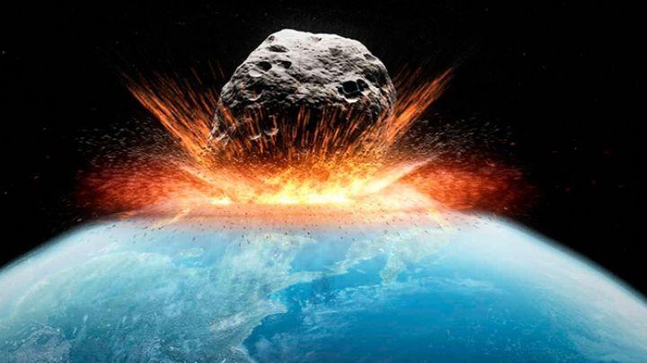Posible impacto de un asteroide en La Tierra
