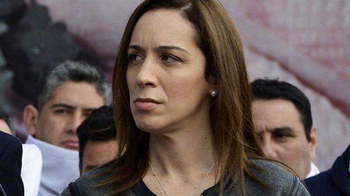 ¡En soledad! Vidal se despega de Macri y se carga la campaña al hombro