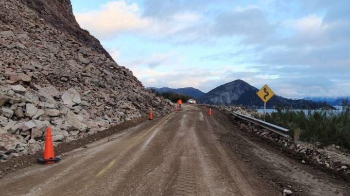 Luego del tremendo derrumbe, llegó el día: ¡Habilitan la ruta 40!