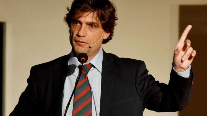 Macri toma juramento al designado ministro de Hacienda, Hernán Lacunza