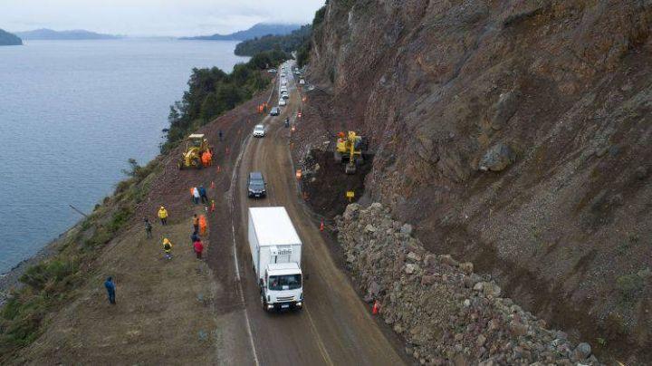 ¡100 % habilitada!: Así quedó la ruta 40, entre Bariloche y Villa La Angostura