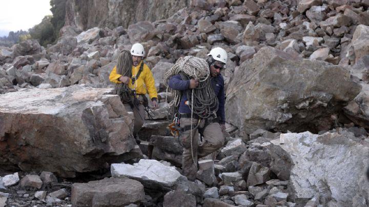 Ruta 40: se utilizarán máquinas más potentes para remover las rocas