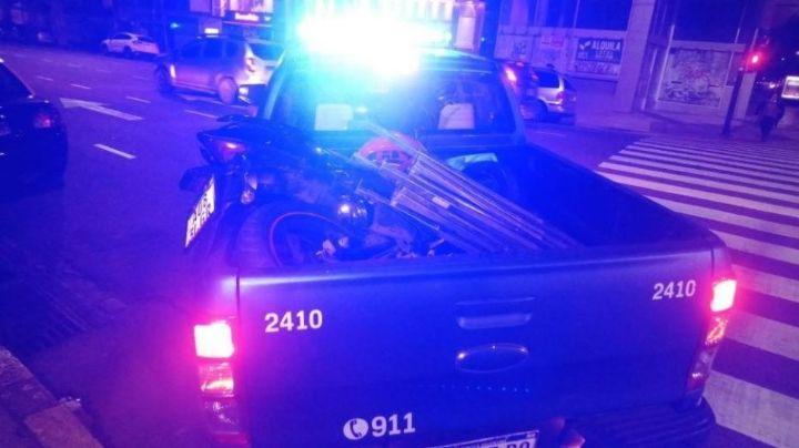 Un delivery murió tras un tremendo accidente en Flores. VIDEO