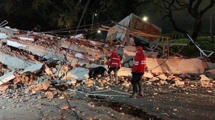 Conmoción: Se derrumbó un edificio de 8 pisos en plena General Paz. VIDEO
