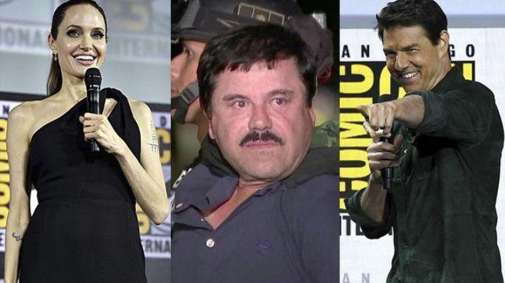 ¡Ah bueno! El Chapo Guzmán quería a Tom Cruise y Angelina Jolie