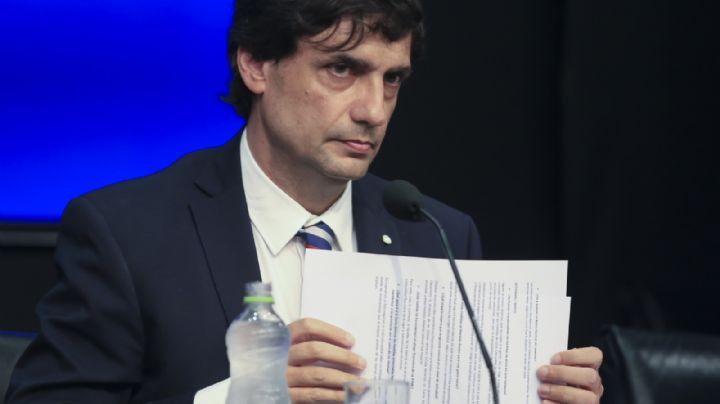 Con el reperfilamiento de la deuda externa, Lacunza debuta en el Congreso