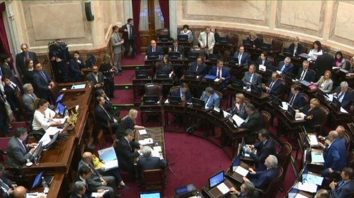 Chispazos en el Senado por la aprobación de la Emergencia Alimentaria