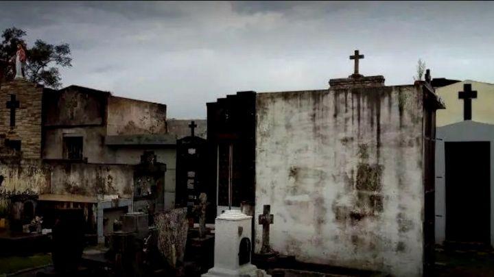 """""""La gente nos creyó"""": fantasma y terror en el cementerio de Capilla del Señor. VIDEO"""