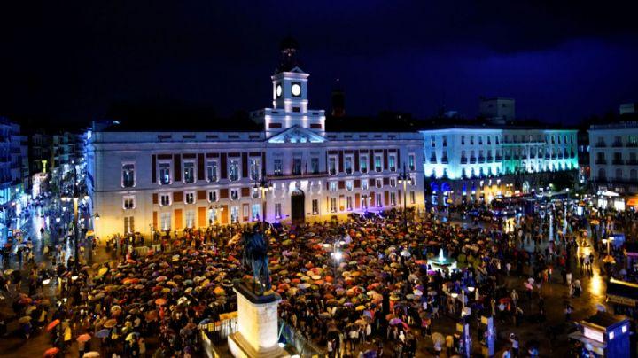 España: Multitudinaria marcha contra la violencia de género
