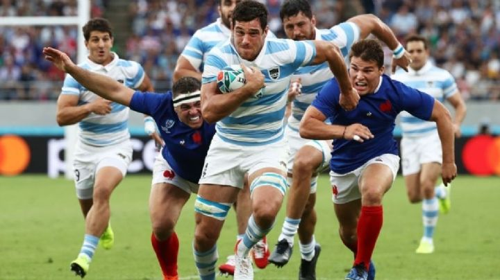 Mundial de rugby: Las mejores 10 fotos del debut de Los Pumas