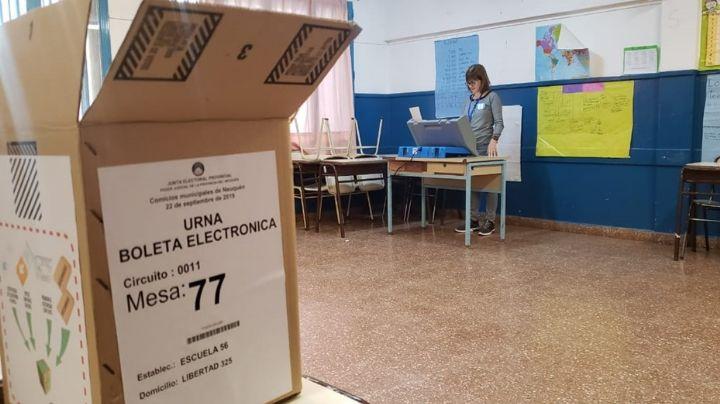 ELECCIONES NEUQUEN 2019: Cerró la votación ¡Expectativa por los resultados!