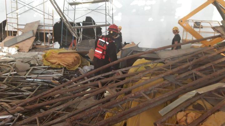 ¡ALERTA! Derrumbe en el Aeropuerto de Ezeiza: Un muerto y trece heridos