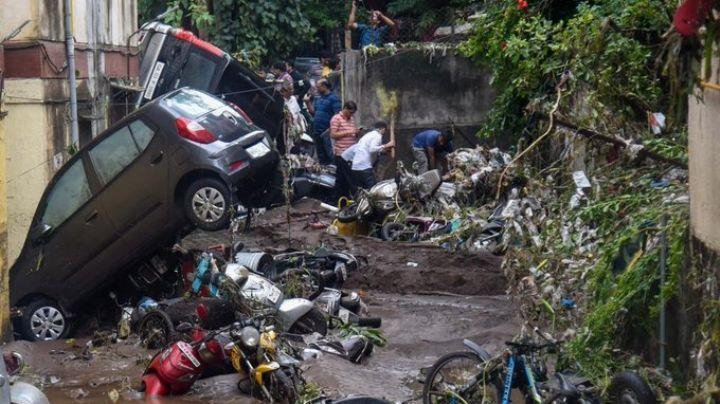 India: Inundaciones trágicas dejan hasta ahora muertos, desaparecidos y heridos