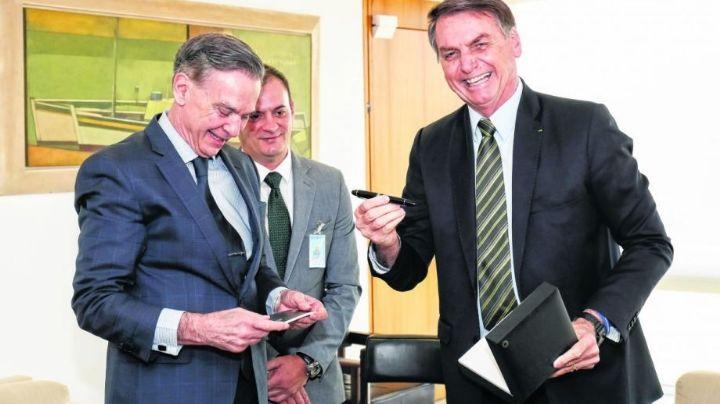 Pichetto elogió a Bolsonaro. Mirá las declaraciones