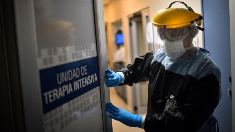 Alerta coronavirus: una localidad rionegrina se quedó sin camas de UTI