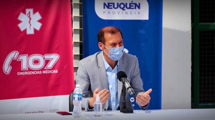 Coronavirus en Neuquén: las dos noticias de Omar Gutiérrez que traen alivio