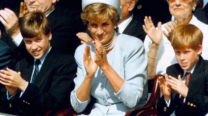 ¡Conmovedor! Sale a la luz una carta de la Princesa Diana para sus hijos