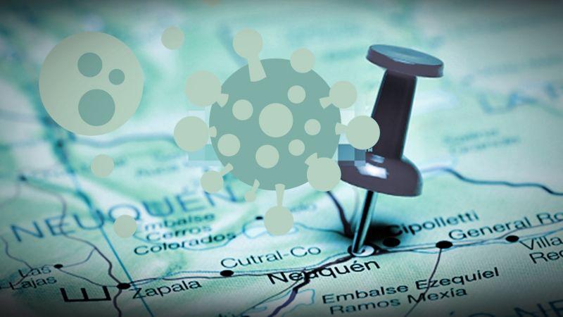 Contagios por coronavirus: el panorama de Neuquén a nivel nacional