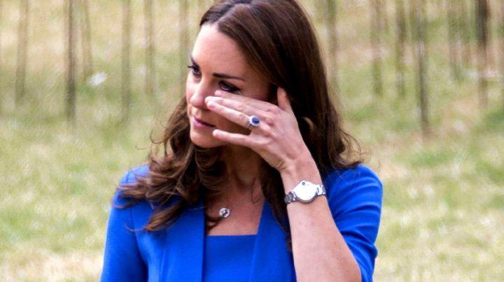 Nunca esperó vivir para leerlo: la tristeza de Kate Middleton esta semana
