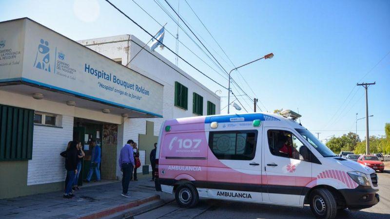 Trasladaron a un paciente con coronavirus desde el Espacio Duam al hospital