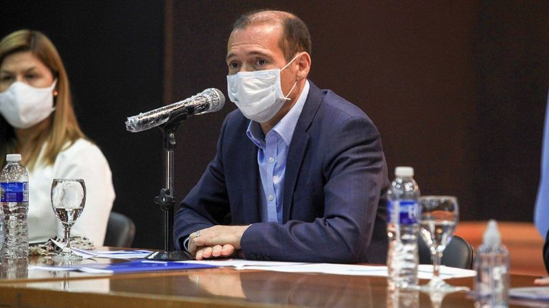 El estado de salud de Omar Gutiérrez: se aislará solo en la residencia oficial