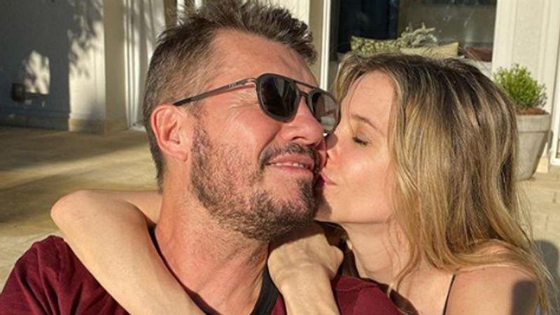 ¡Se supo! La verdadera razón por la que Tinelli y Guillermina Valdés no llevan puestas sus alianzas