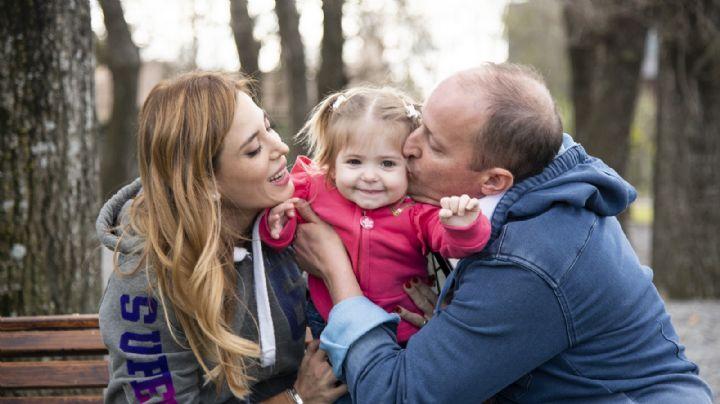 La felicidad de Chloé, la hija de Jésica Cirio e Insaurralde, después del momento más difícil
